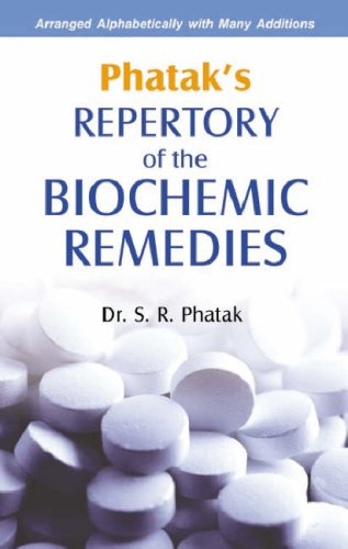 9788170217237: Repertory and Materia Medica of the Biochemic Remedies