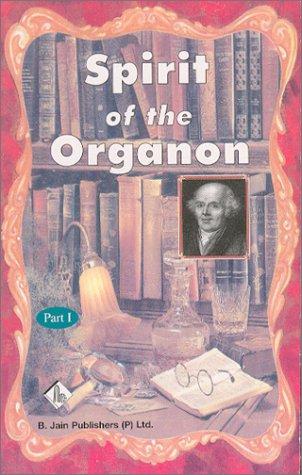 9788170218678: Spirit of the Organon: Part I