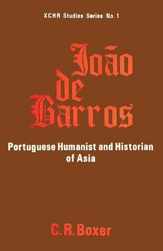 9788170221821: Joao de Barros: Portuguese Humanist and Historian of Asia