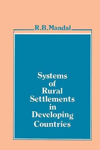 9788170222033: Systems of Rural Settlements in Developing Countries