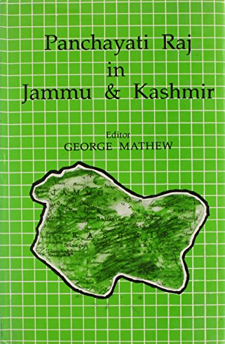 9788170223153: Panchayati Raj in Jammu and Kashmir