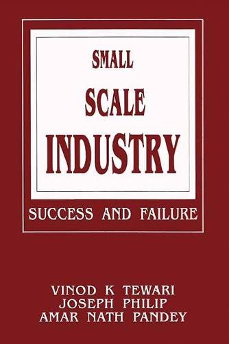 Small Scale Industry: Pandey Amar Nath