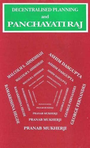 9788170224969: Decentralised Planning and Panchayati Raj