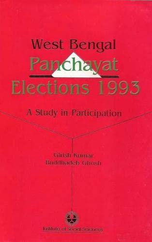 West Bengal Panchayat Elections, 1993: Ghosh Buddhadeb Kumar