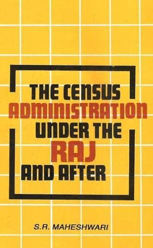 9788170225850: Census Administration Under the Raj and After