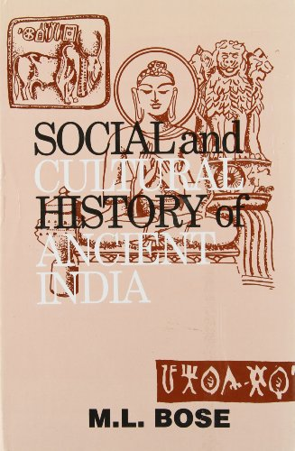 9788170225980: Social and Cultural History of Ancient India
