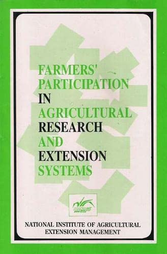 Farmers' Participation in Agricultural Research and Extension: John, K. C.;
