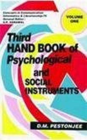 Third Handbook of Psychological and Social Instruments 2 Vols: D.M. Pestonjee