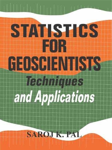 9788170227120: Statistics for Geoscientists: Techniques and Application