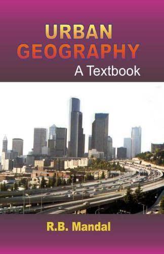 9788170227946: Urban Geography: A Textbook