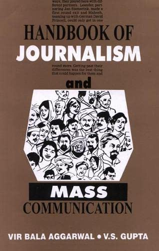 9788170228806: Handbook of Journalism and Mass Communication