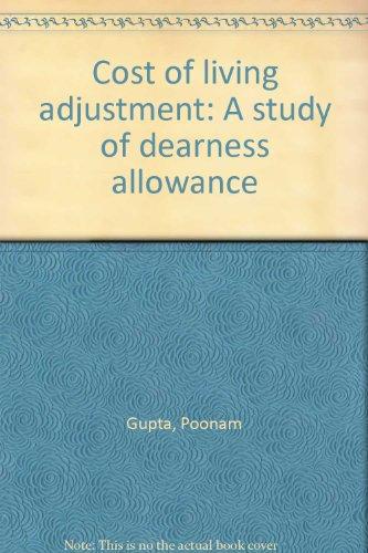 9788170230922: Cost of living adjustment: A study of dearness allowance