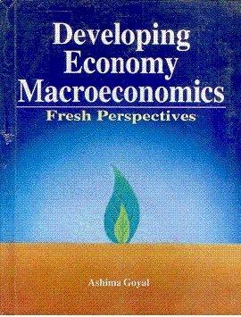 Developing Economy Macroeconomics ; Fresh Perspectives