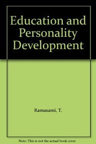 9788170245155: Education and Personality Development