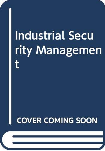 Industrial Security Management: S.C. Dey,S.C. Kaushal