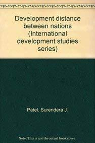 Development Distance Between Nations: Patel, Surendera J.