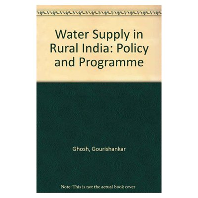 Water Supply in Rural India: Others Chander Jagdish