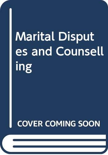 9788170248026: Marital Disputes and Counselling