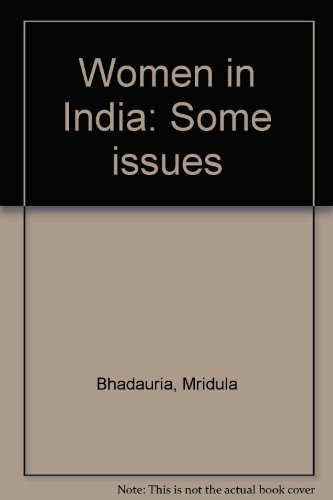 9788170248750: Women in India: Some issues