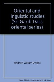 Oriental & Linguistic Studies (Veda, Avesta, Religion & Mythology, Orthography & Phonology, Astro...