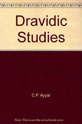 Dravidic Studies: Pillai S. Aavaratavinaya