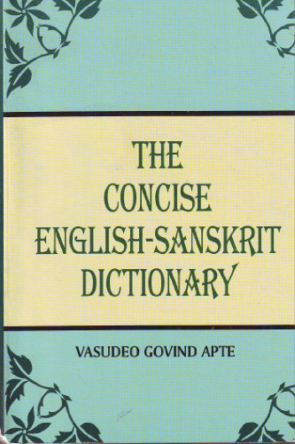 Concise English-Sanskrit Dictionary