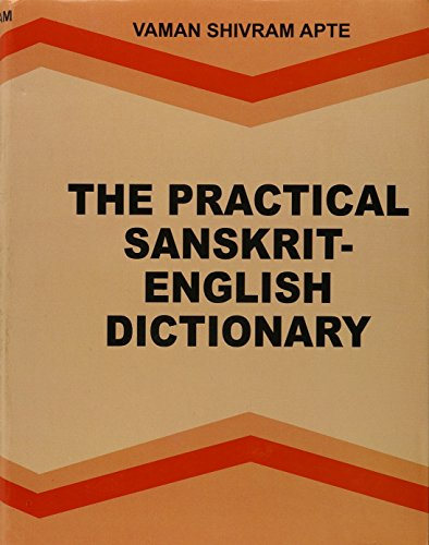 Practical Sanskrit-English Dictionary: V.S. Apte
