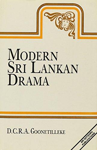 9788170302513: Modern Sri Lankan Drama: An Anthology (Studies on Sri Lanka Series, No. 15)