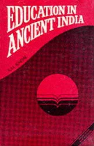 9788170303121: Education in Ancient India (Sri Garib Dass Oriental Series)