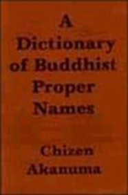 A Dictionary of Buddhist Proper Names