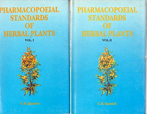 Pharmacopoeial Standards of Herbal Plants, 2 Vols.