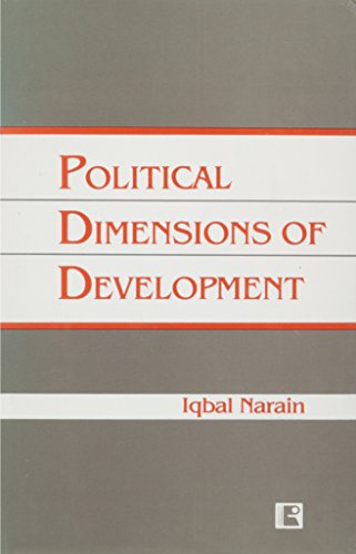 Political dimensions of development (8170332532) by Narain, Iqbal