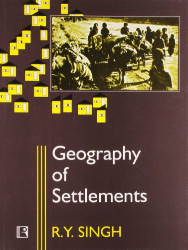 9788170334835: Geography of Settlements