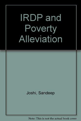 IRDP and Poverty Alleviation: Joshi, Sandeep; Puri, N.K.