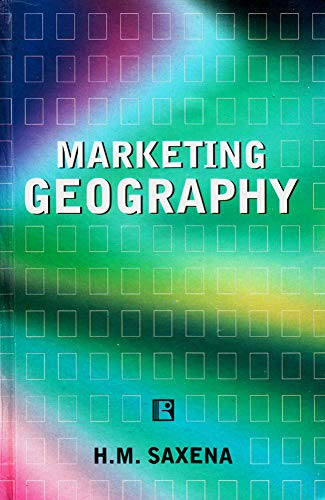 9788170337898: Marketing Geography