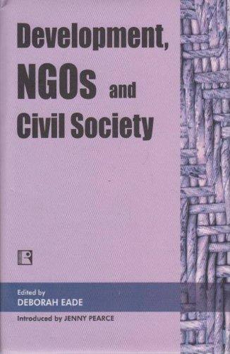 9788170339113: Development NGOs and Civil Society