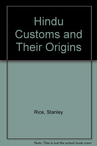 9788170350194: Hindu Customs and Their Origins