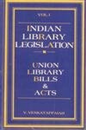 9788170350873: Indian library legislation