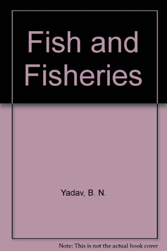 9788170351108: Fish and Fisheries