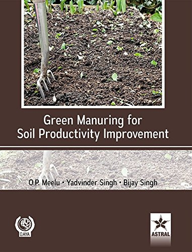 Green Manuring for Soil Productivity Improvement: FAO