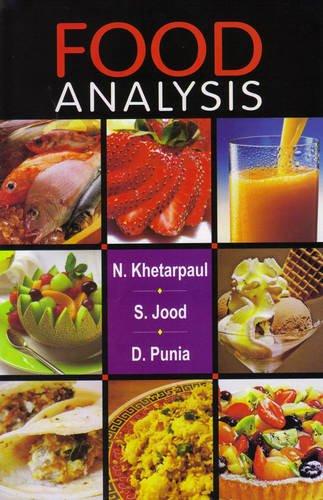 Food Analysis: D. Punia,Neelam Khatarpaul,S. Jood