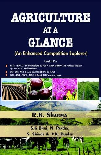 9788170357643: Agriculture at a Glance (An Enhanced Competition Explorer)