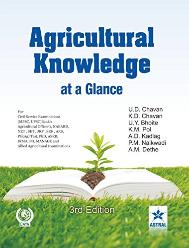 Agricultural Knowledge at a Glance (Third Edition): U.D. Chavan,A.D. Kadlag,K.M. Pol,P.M. Naikwadi,...
