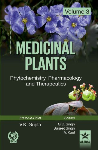 9788170358640: Medicinal Plants: Phytochemistry Pharmacology and Therapeutics Vol 3
