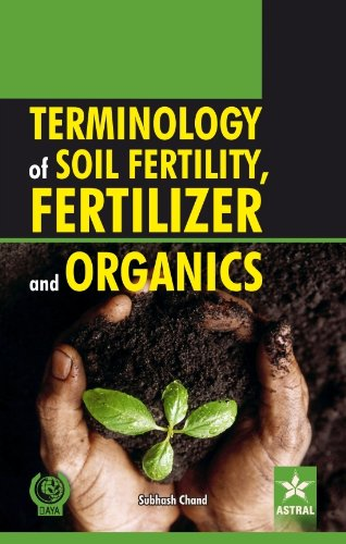 Terminology of Soil Fertility, Fertilizer and Organics: Subhash Chand