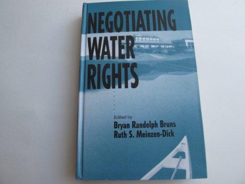 9788170368786: Negotiating water rights