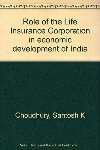 Role of the Life Insurance Corporation in: Kulkarni Kishore G.