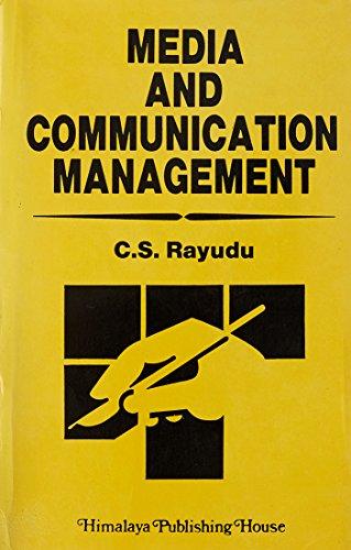 9788170407249: Media and Communication Management