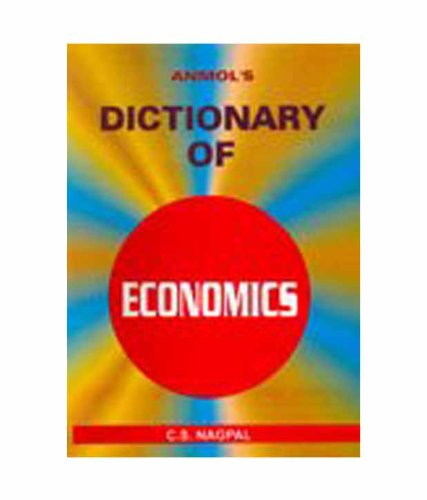 Dictionary of Economics: C.S. Nagpal