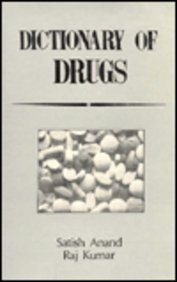 9788170412403: Dictionary of Drugs